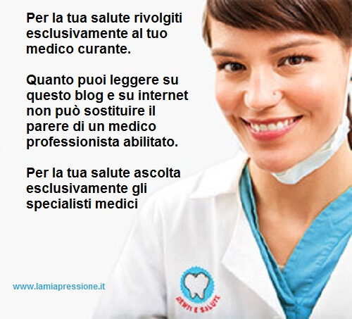 disclaimer - rivolgiti al tuo medico