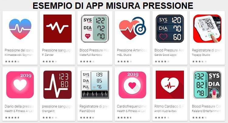 app per misurare la pressione